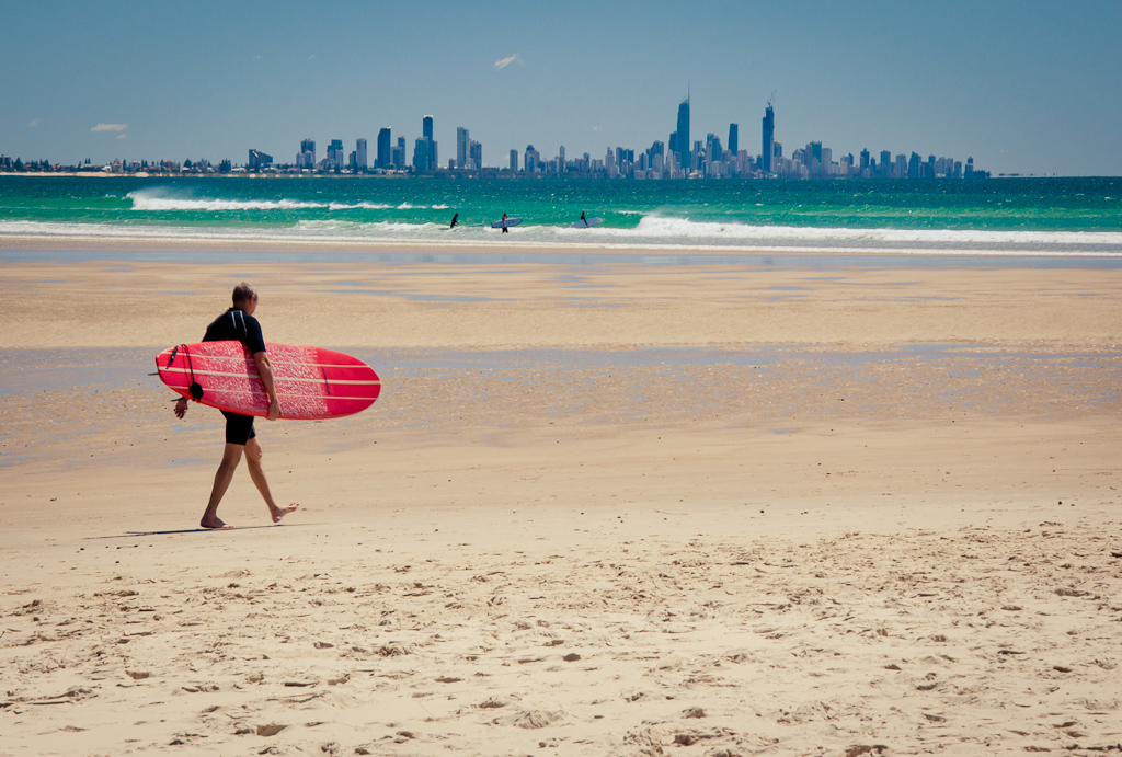 Heading Out at Currumbin